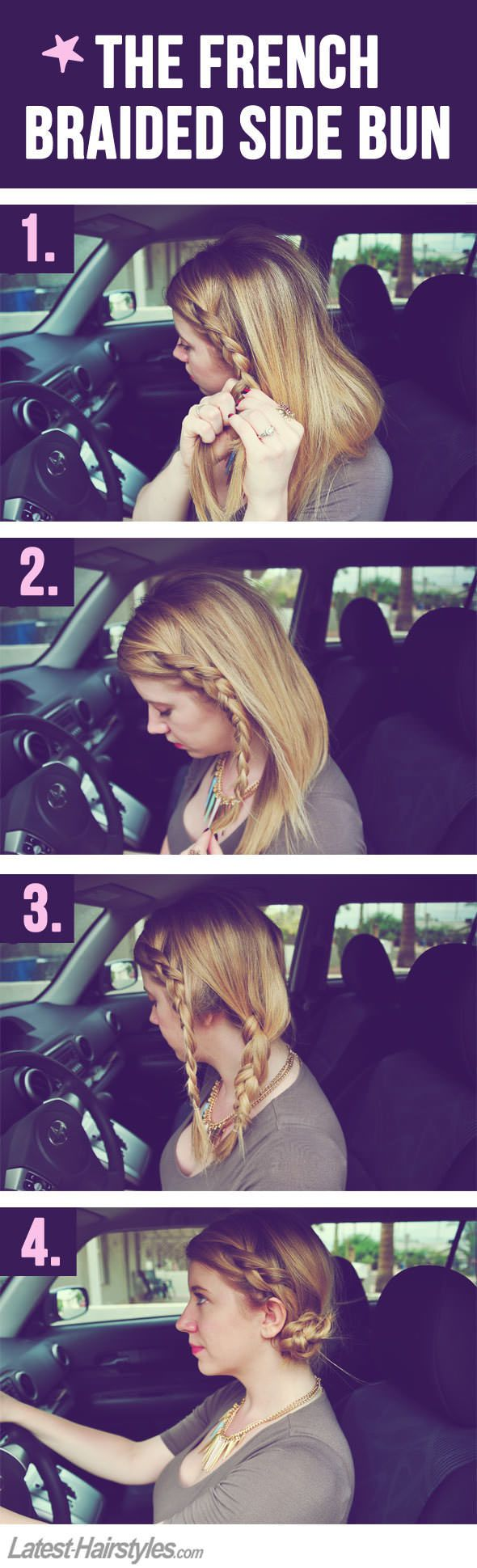 Super Easy Hairstyles You Can Do In Literally 10 Seconds