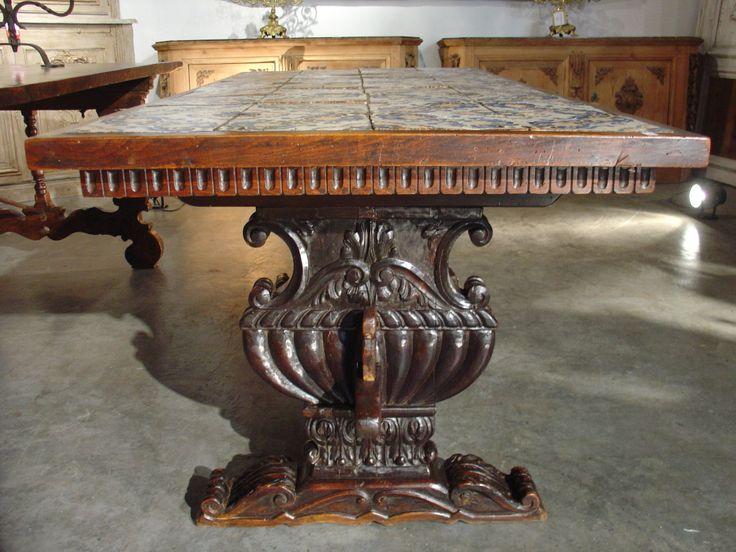 Chapter 11 Furniture Comparison Spanish Renaissance Mesa