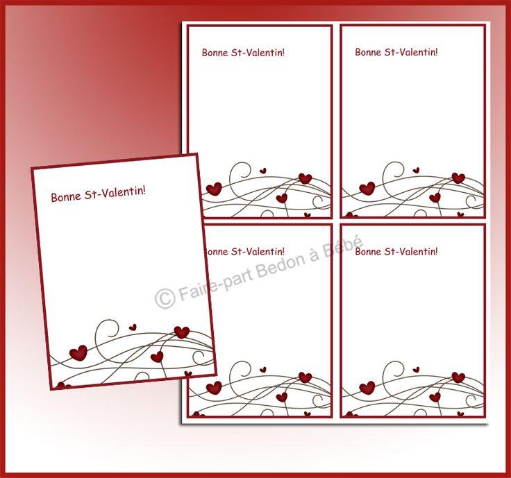 ****Une façon originale de souligner la Saint-Valentin!!! Nos petites cartes sont parfaites pour écrire des petits mots doux à vos petits Valentins. Quoi de plus romantique, qu'une petite note pour souligner la St-Valentin avec votre amoureux. ****An original way to celebrate Valentine's Day. Our little cards are perfect! What could be more romantic, a little note to celebrate Valentine's Day with your sweetheart. A beautiful thought for Valentine's Day!