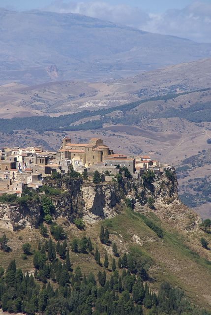 Enna, Sicily, Italy  #enna