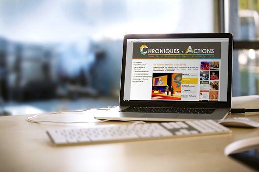 Site de Chroniques & Actions, dont l'activité porte sur l'information et le conseil aux entreprises et institutions de la région normande.