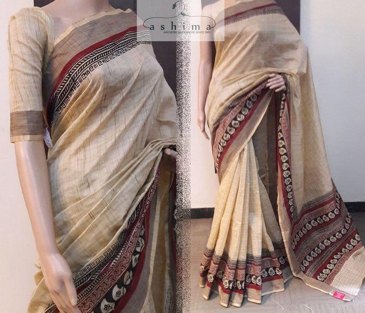Code:0104170 - Cotton Silk Saree, Price INR:1790/-