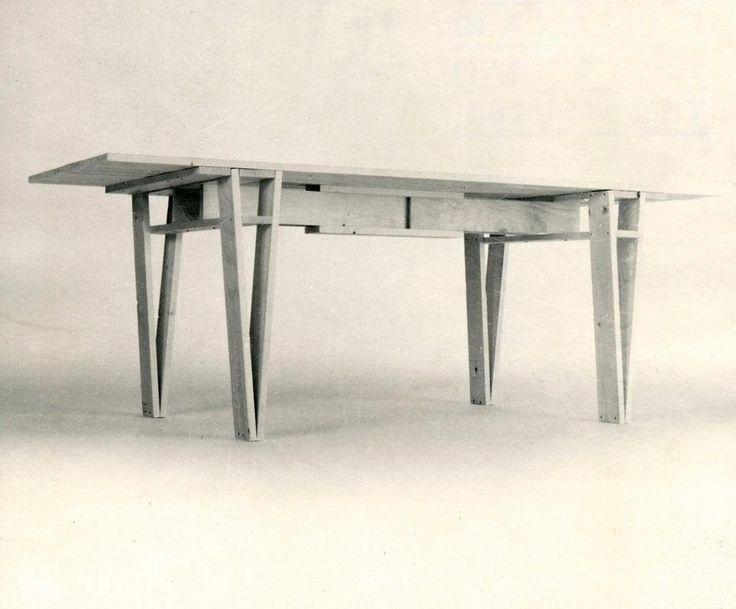 Enzo Mari, Model Of His Proposta Per Unu0027autoprogettazione, The Table Is Now  Manufactured By Artek