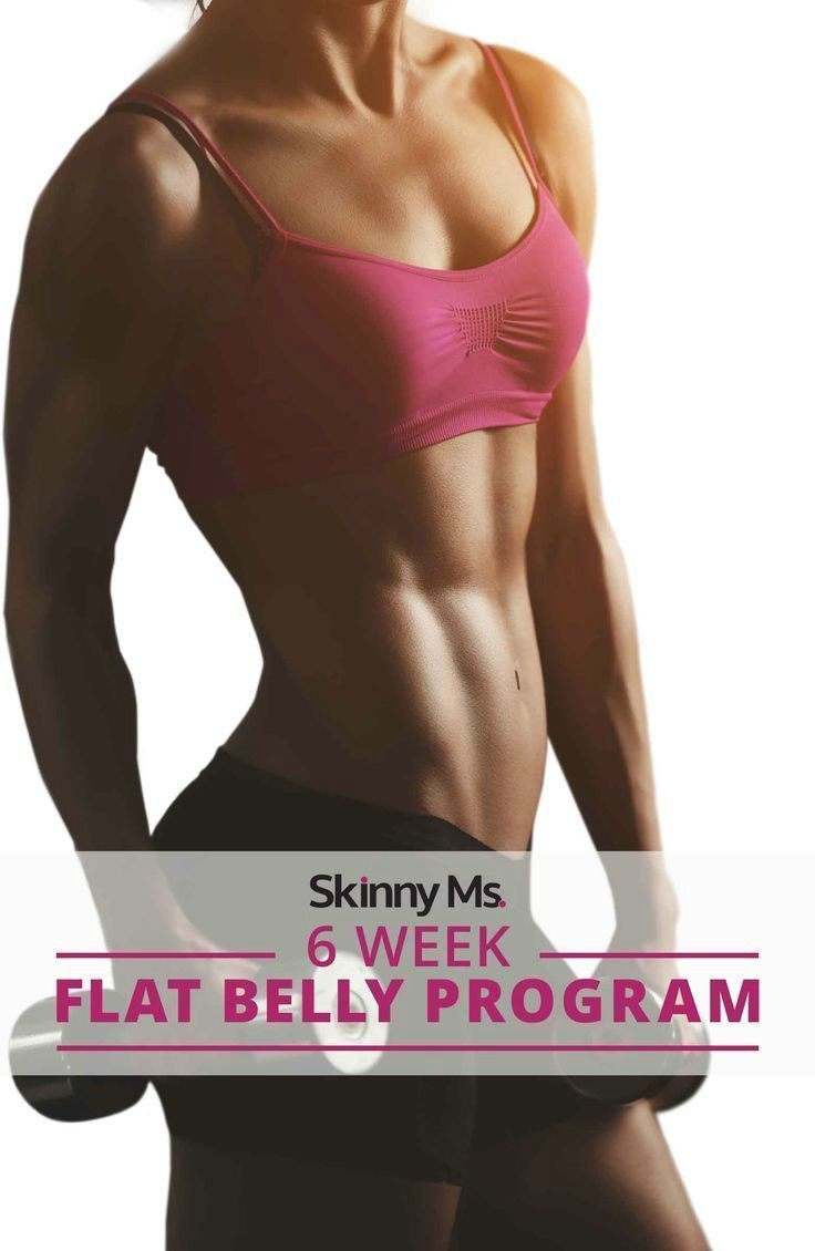 Who wants flat abs? This 6 Week Flat Belly Program will help you to finally get your flat belly for good! #flatbelly #flatabs #fitness #cleaneating