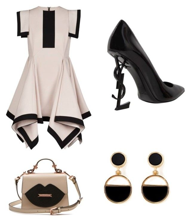 """""""AN DA's style #2"""" by an-da-i on Polyvore featuring Yves Saint Laurent and Warehouse"""
