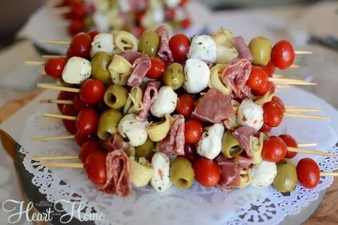 Birthday Party Planning - Woodland Style food options skewers