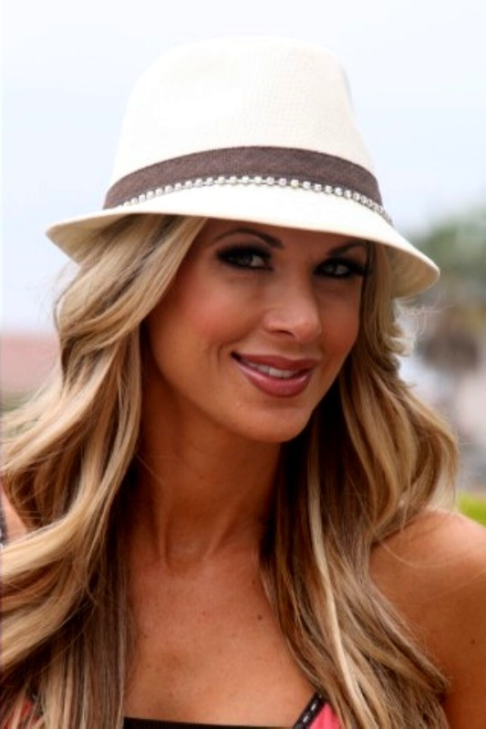 Alexis Bellino from The Real Housewives of Orange County... Love her fedora!