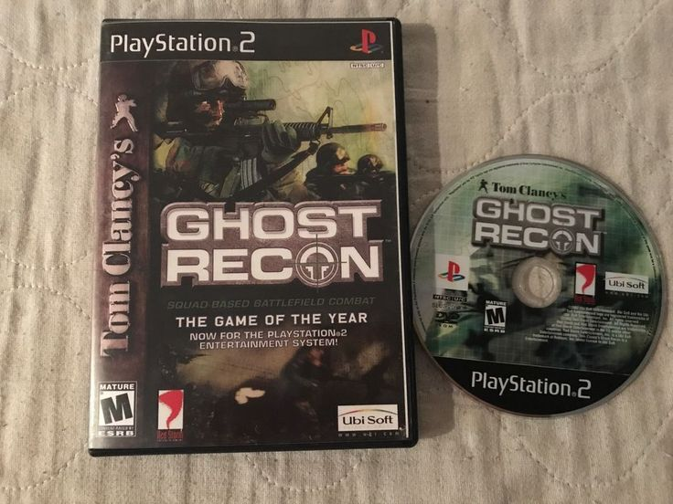 Tom Clancy's Ghost Recon (Sony PlayStation 2, 2002) PS2