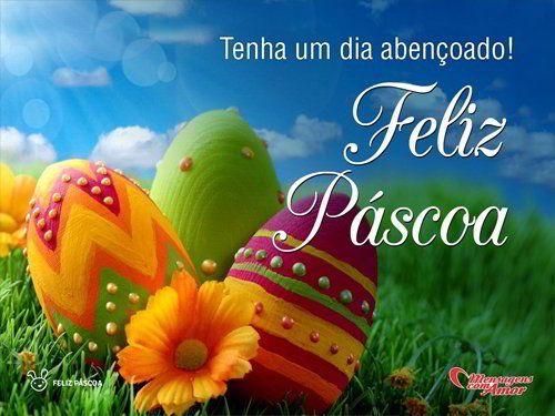 Desejo que nesta Páscoa todos estejam unidos em oração para que o amor, a esperança, e a alegria invada nossos corações.