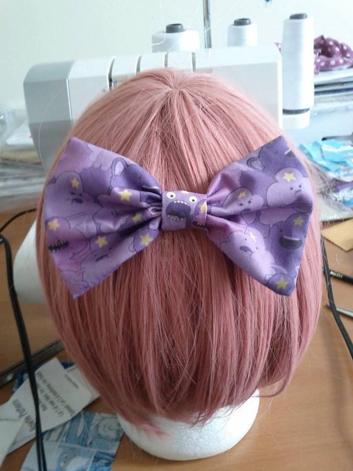 Adventure Time Lumpy Space Princess Anime Hair Bow by Namouri, $4.95