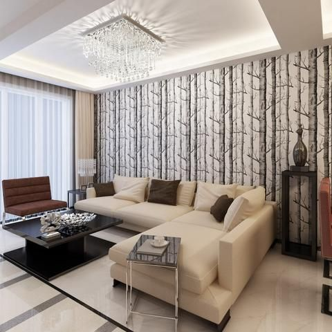 branches 3d mural wallpaper roll modern vinyl wall paper for living room home wholesale stylish john