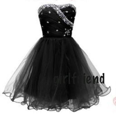 black dress #prom formal dress