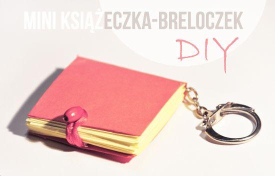 Sweet little mini book key ring...