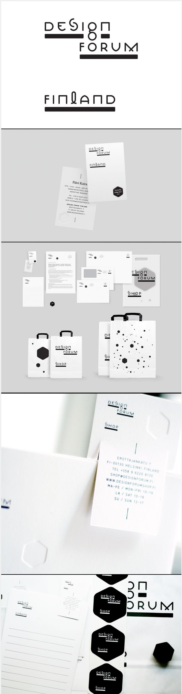 Design forum black and white #identity #packaging #branding PD