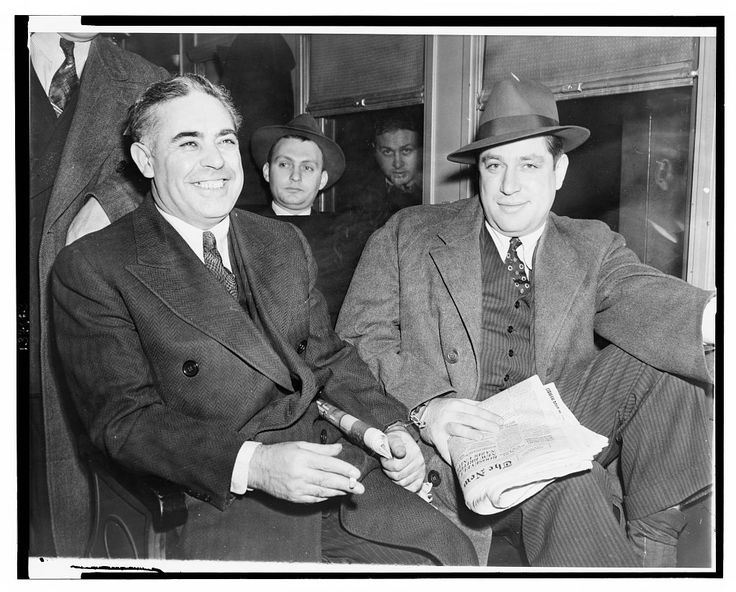 Louis Capone and Emanuel Mendy Weiss by Al Aumuller