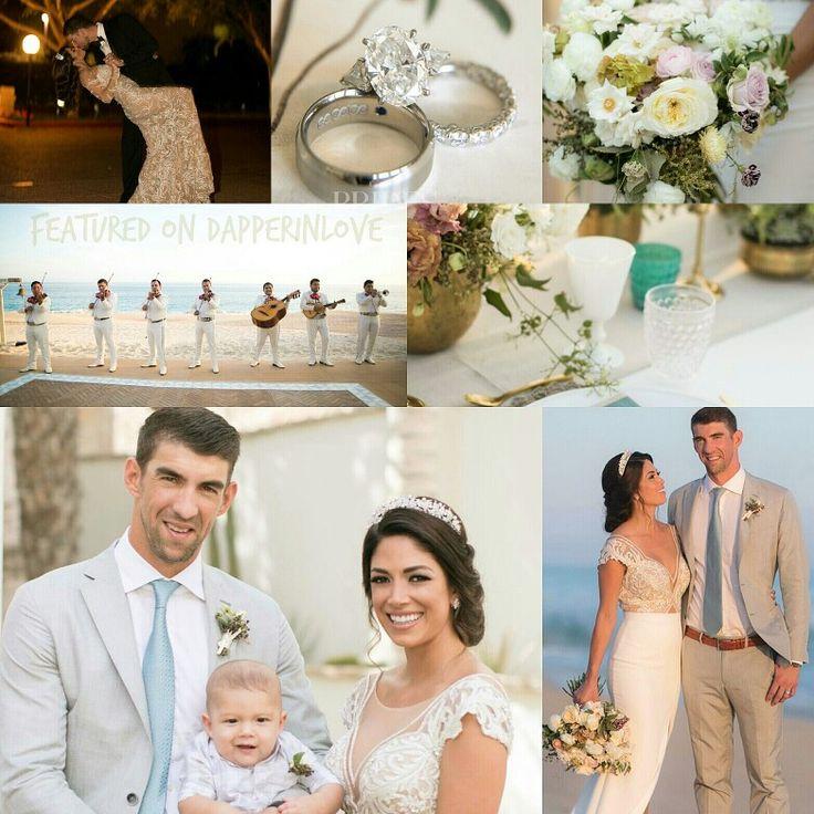 💫👰💫 #FlashbackFriday: #Celebrity Wedding Edition  1. 🏊 Michael Phelps and Nicole Johnson. {Tap photo for full details!}  ✨ #PutARingOnIt 💎💍  #weddinginspiration #MichaelPhelps #sports #destinationwedding #Mexico #love #fashiongram #foodie #lookoftheday #outfitoftheday #celebrity #couture #bespoke #relationshipgoals #wedding #couple #married #inlove #IDo #happiness #wanderlust #photography #bride #weddingdress #groom #dapper #beautiful #MichaelPhelps