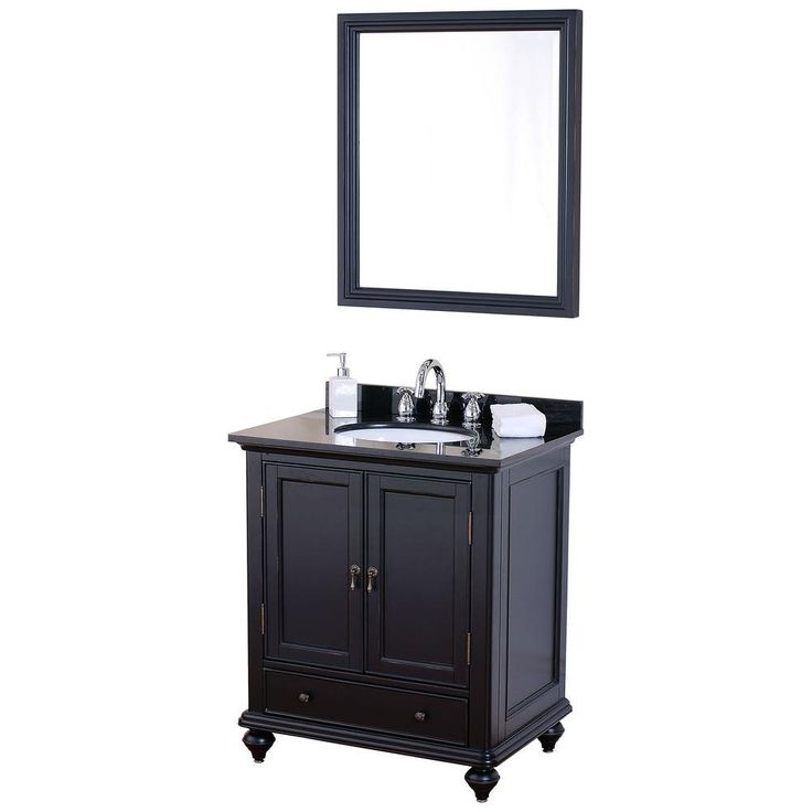 Pegasus Lancaster Birch Vanity Cabinet with Mirror in Brushed Ebony will envelop any bathroom with a welcoming feel  Includes bronze hardware and bun feet. 1000  images about MOM   Bathroom Ideas on Pinterest   Pegasus
