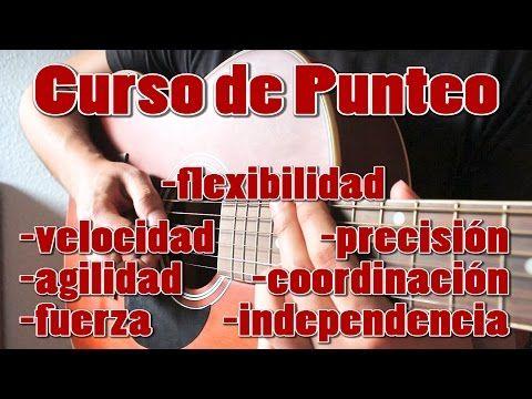 Introduccion al Curso de Punteo. Técnicas de Mano Derecha para diferentes tipos de Guitarra. - YouTube