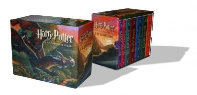 $1485. Librería el Péndulo. Harry Potter. The Complete Series: Box set, 7 vols. (paperback)