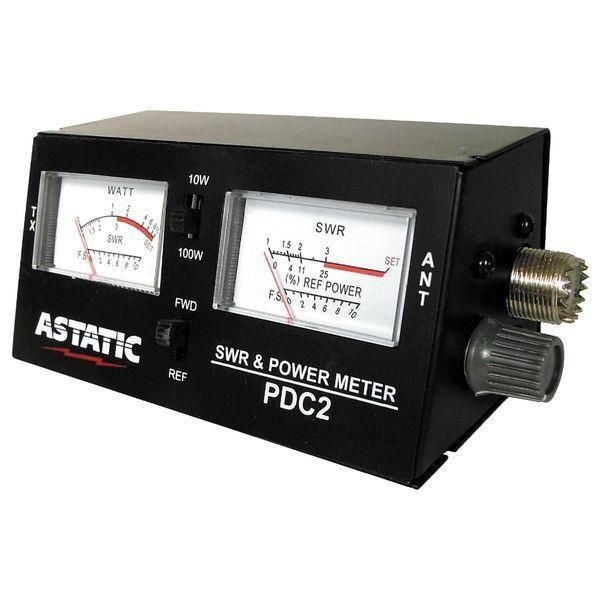 Astatic PDC2 SWR / Power / Field Strength Meter $39.99  Visit Fleetwood Digital for ~400+ #hamr #HamRadio related items! https://goo.gl/VUAsb2