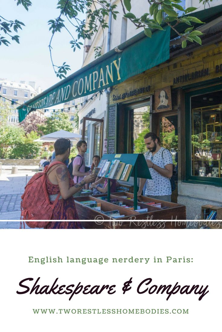English language bookshop in Paris? Nerdy pit stop for tourists? Wonderful, historic literary landmark? Yes to all. Explore Shakespeare & Co with us!