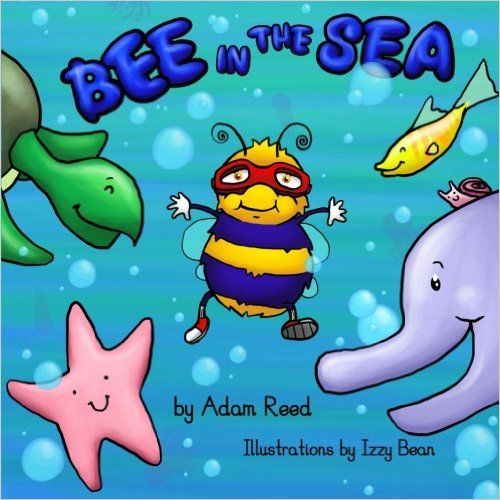 Bee in the Sea by Adam Reed - Book Review & Giveaway, Bee in the Sea, Bee in the Sea by Adam Reed, Adam Reed author, Children's books, new books for kids, kids books, #BeeInTheSea