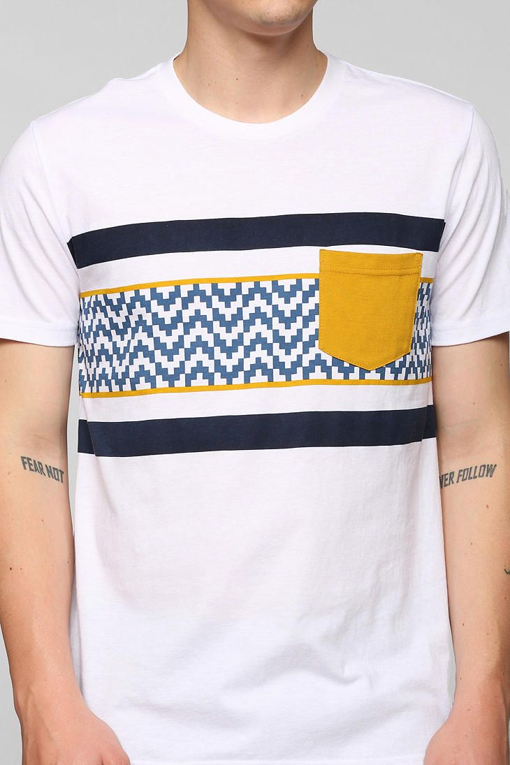 BDG Geo Pocket Tee