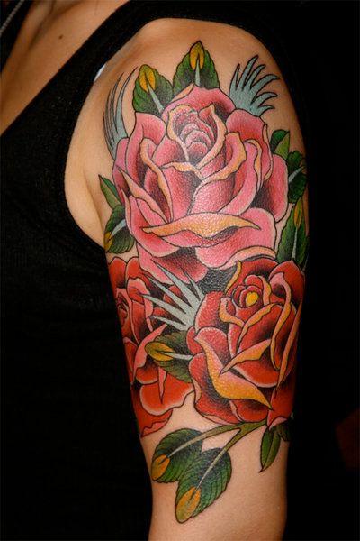 rose tattoo...pretty!