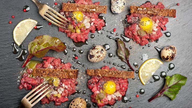Recept: zo maakt Ron Blaauw steak tartare