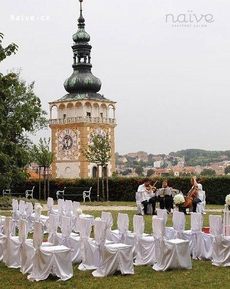 zámek Mikulov svatební obřad