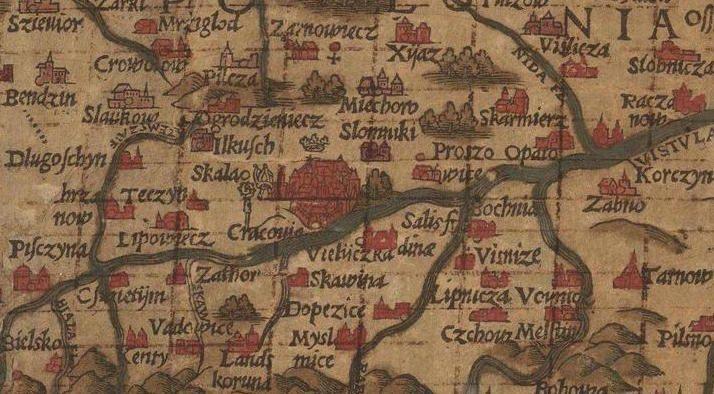 Stara Mapa - Małopolska i Kraków