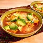 """Vegetarian Tortilla Soup — author says, """"People have offered me their firstborn children for this recipe."""" Lots of 5-star reviews."""