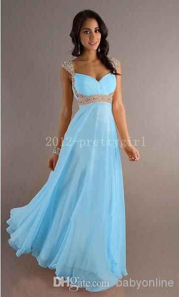 Wholesale 2014 - Buy Cheap A-line Empire Chiffon Bridesmaid Dress Cap Sleeves Sweetheart Long Length Backless Coral Evening Gowns Prom Dresses Under $100 EB239, $60.88   DHgate