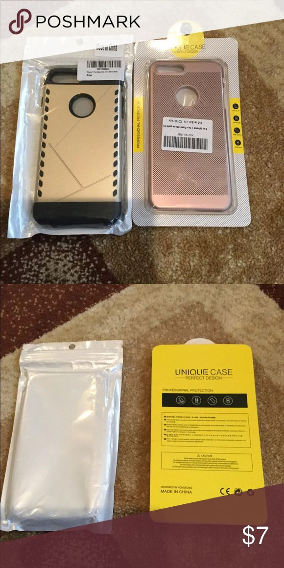2 iPhone 7 Case - New and in great condition Other