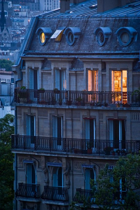 Oh how I love the Parisian rooftops/architecture - Paris, France