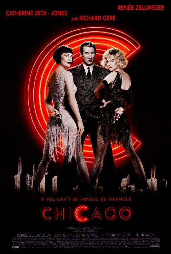 Chicago 27×40 Movie Poster (2002)