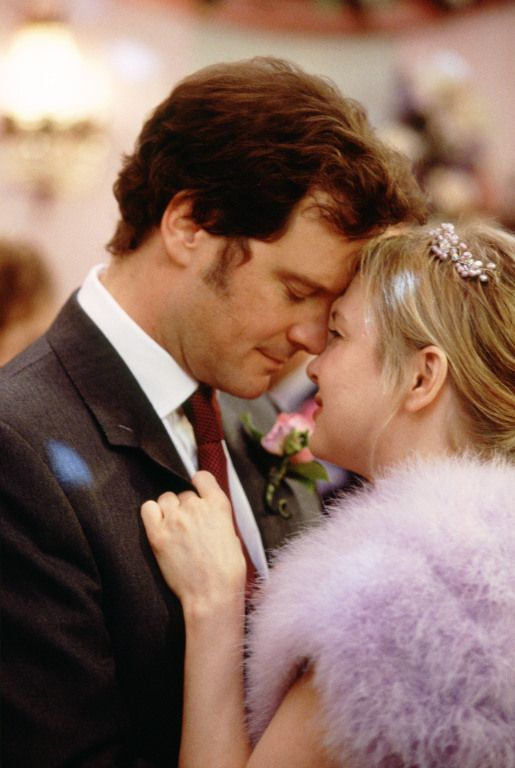 Mark & Bridget in Bridget Jones Diary