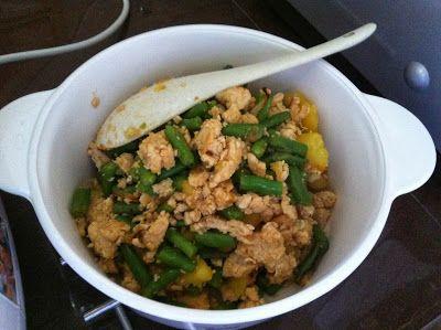 Chicken rice fs dinner