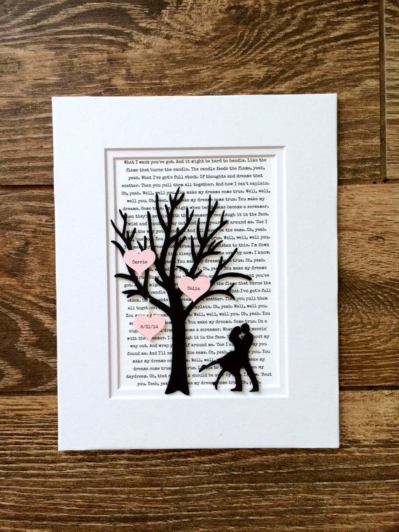 Personalized Valentines Day Gift  V day Gift for by HandmadeHQ