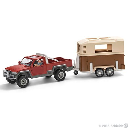 Pick-up with driver by Schleich
