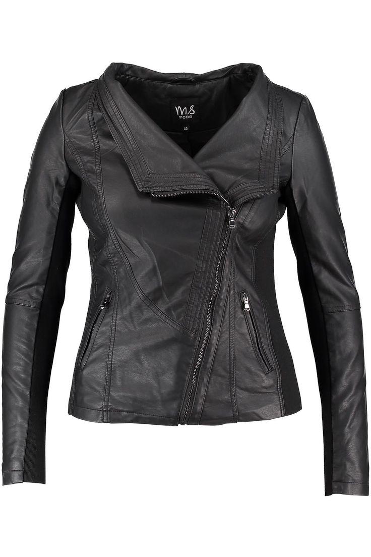 Leather jacket | Fashion | Plussize fashion