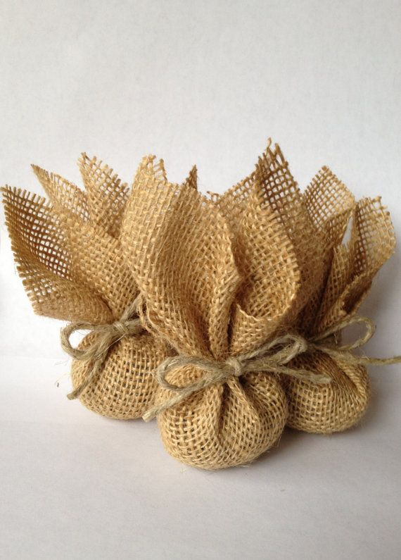 Lavender Sachets wrapped in Rustic Burlap - Eco-Friendly!