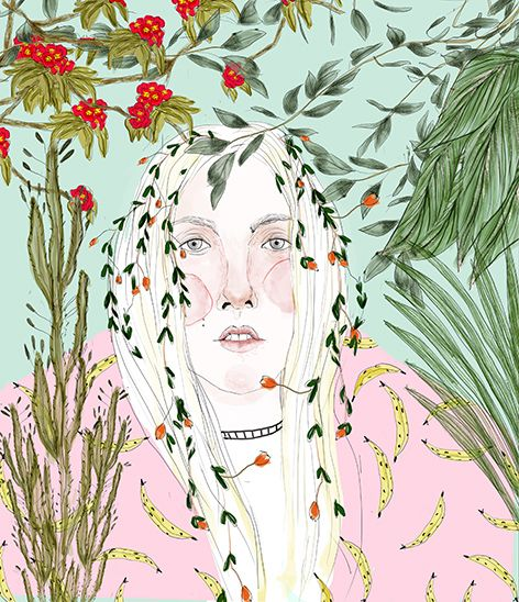 Cristina Salgar by Luisa Castellanos