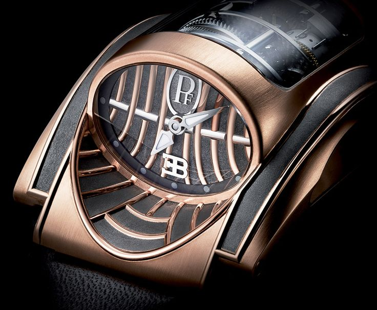The Unique Parmigiani Bugatti Mythe Driver's Watch $430,000