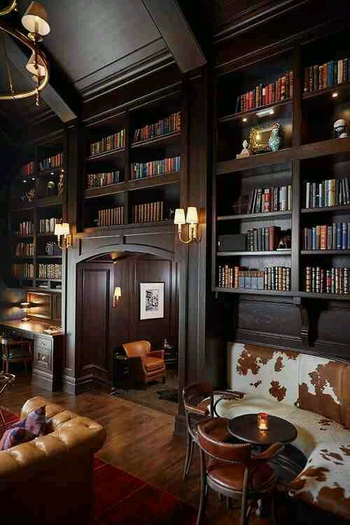 28 Dreamy Home Offices With Libraries For Creative Inspiration: Best 25+ Masculine Interior Ideas On Pinterest