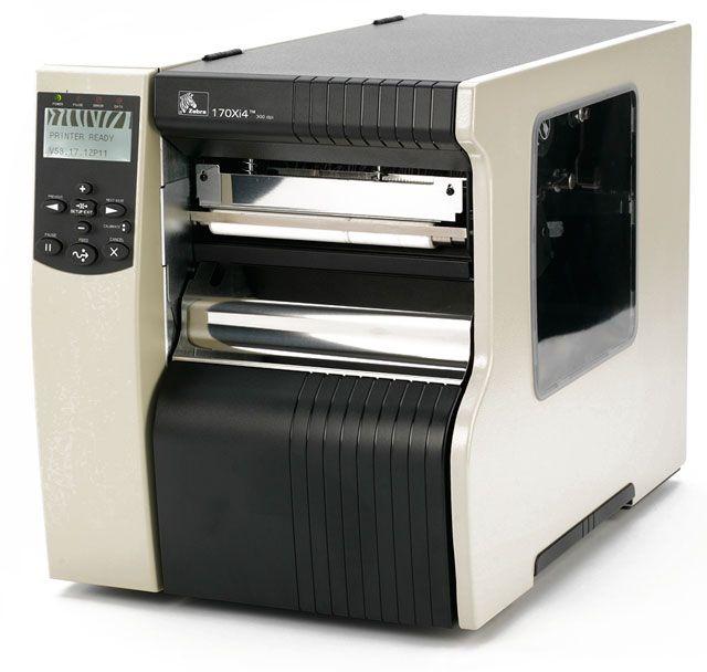 #ZEBRA170Xi4 Industrial Thermal Transfer Label Printer at wish as pos