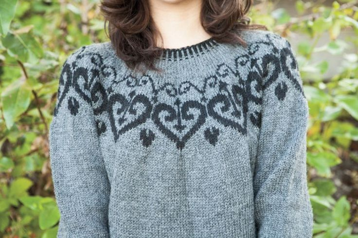 Ironheart Pullover Pattern - Knitting Patterns and Crochet Patterns from KnitPicks.com Would look good in Lopi Lett