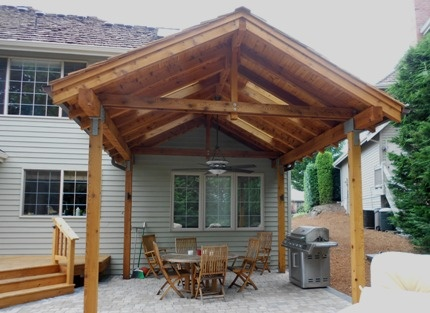 Simple Roof Structure Patios Amp Porches Pinterest