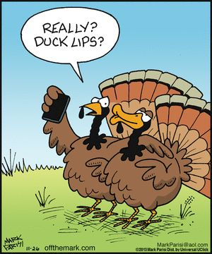 Thanksgiving Humor | Off the Mark Comic Strip on GoComics.com | #happythanksgiving #thanksgiving humor