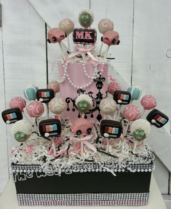 Mary Kay Cake Pops Pink Cadillac Eye Shadow Compact
